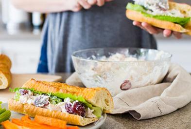 Light & Lactose Free Yogurt Chicken Salad