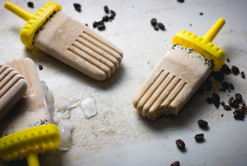 Creamy Iced Coffee Pops