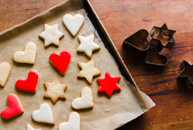 Classic Sugar Cookies with Glaze