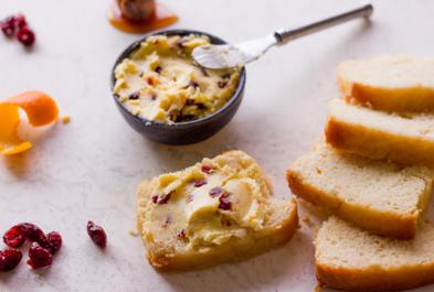 Cranberry Orange Honey Butter