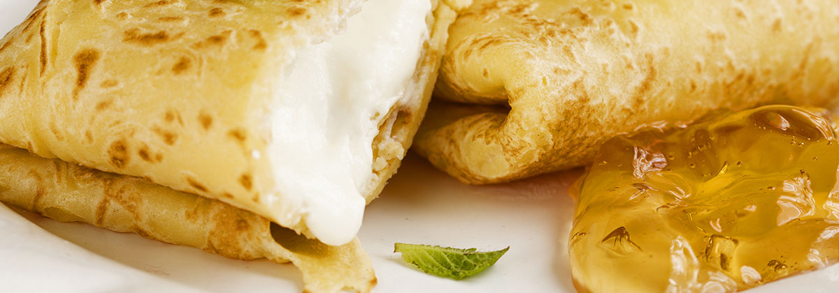 Recipes Breakfast Banner Holiday Brunch Blintzes 1200X420Px
