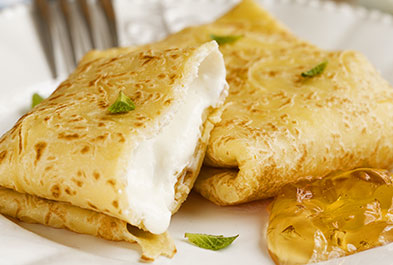 Holiday Brunch Blintzes