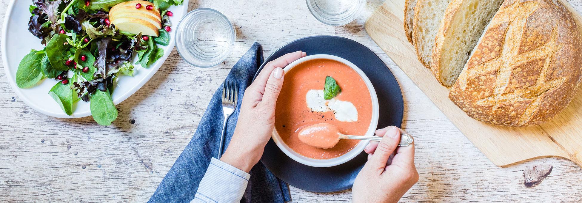Recipes Cream Of Tomato Soup Banner