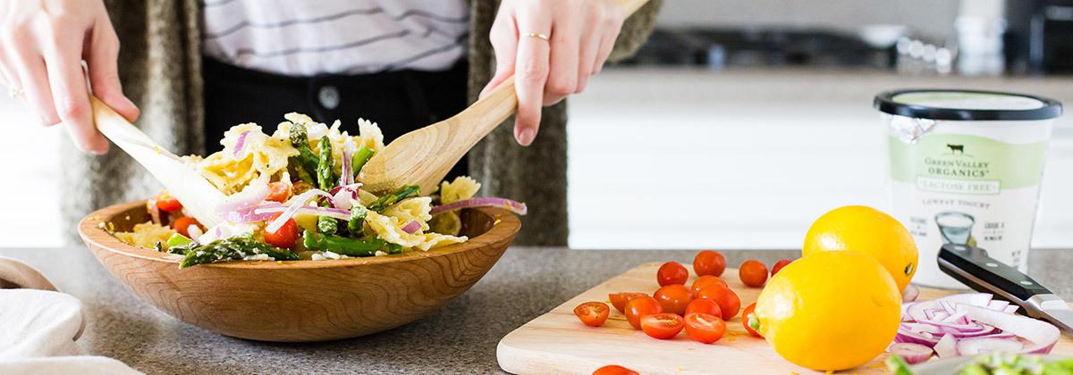 Pasta Salad Banner