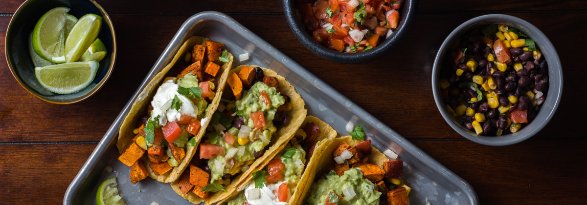 Recipes Entrees Banner Sweet Potato Tacos V2