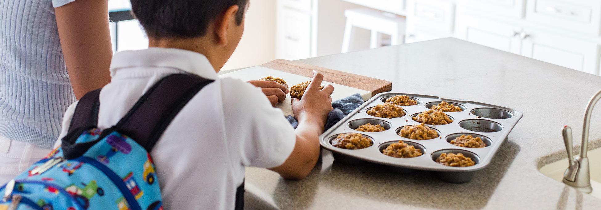 Lactose-Free Apple Cinnamon Kefir Muffins