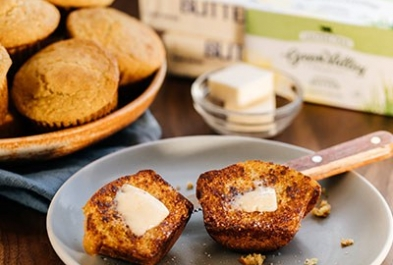 Creamy Cornbread Muffins