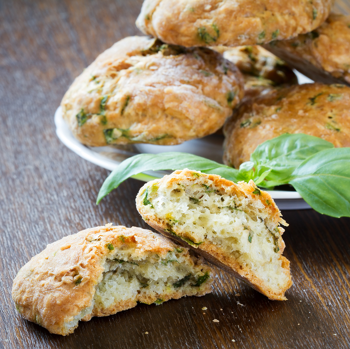 Feta Sour Cream Scones | Lactose Free Recipes | Green Valley Organics
