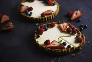 Berries & Cream Tart