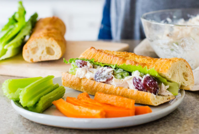 Light & Lactose Free Yogurt Chicken Salad
