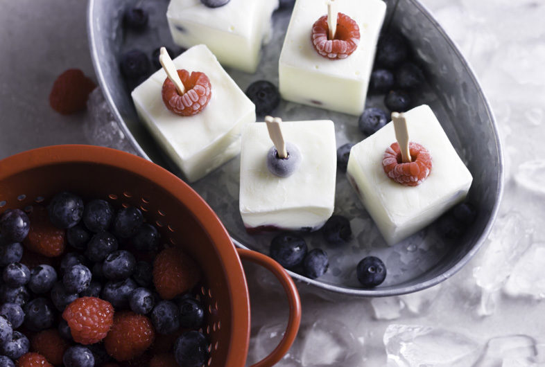 3 Ingredient Frozen Yogurt Bites