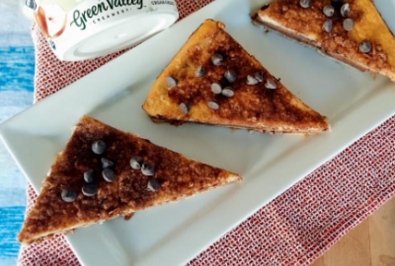 Mexican Chocolate Sopapilla Cheesecake