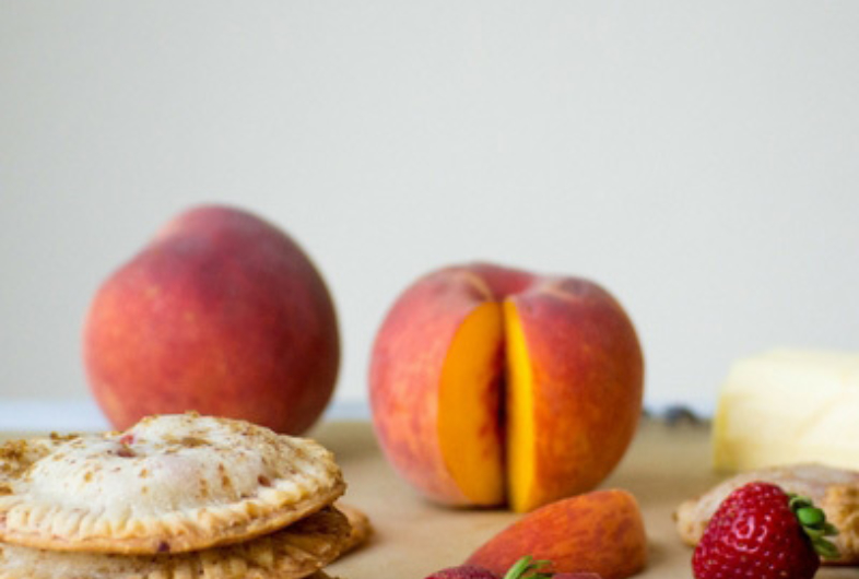 Peach & Strawberry Hand Pies