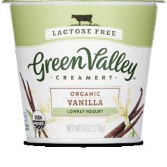 Green Valley Creamery Lowfat Vanilla Yogurt