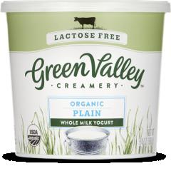 Green Valley Creamery Whole Milk Plain Yogurt 24oz