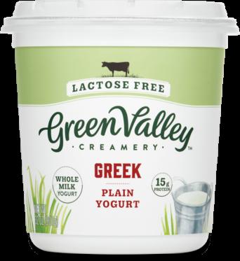 Lactose Free Greek Yogurt 32Oz Plain Whole Milk