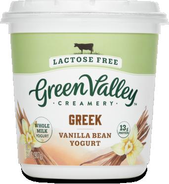 Lactose Free Greek Yogurt Vanilla Bean 32oz