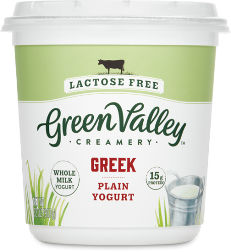 Lactose Free Greek Yogurt 32Oz Plain Whole Milk