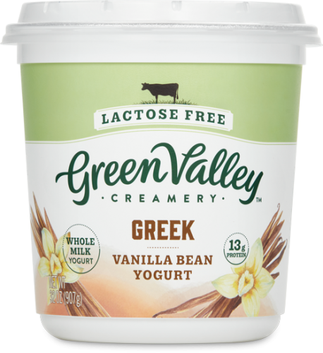 Lactose Free Greek Yogurt Vanilla Bean 32oz