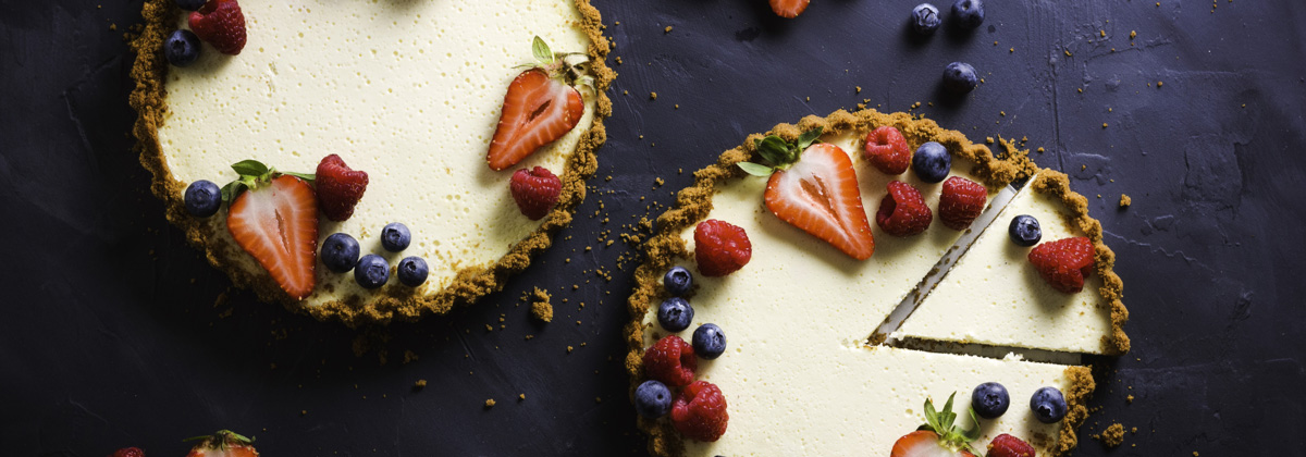 Recipes Desserts Banner Berries And Cream Tart