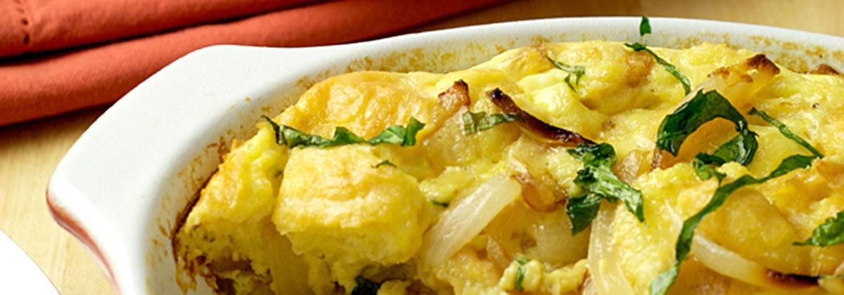 Recipes Breakfast Banner V3 Strata Egg Bake 1200X420Px