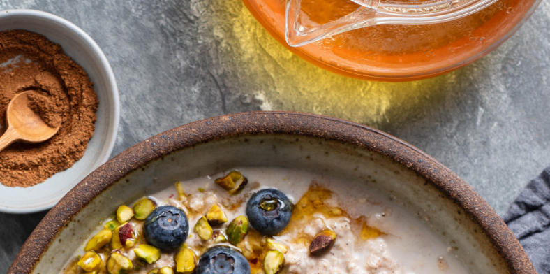 Chai Overnight Oats Recipe Header