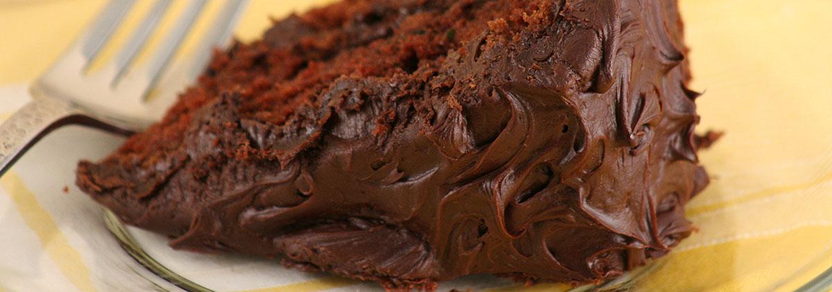 Recipes Chocolate Zucchini Cake Banner 1200X420Px