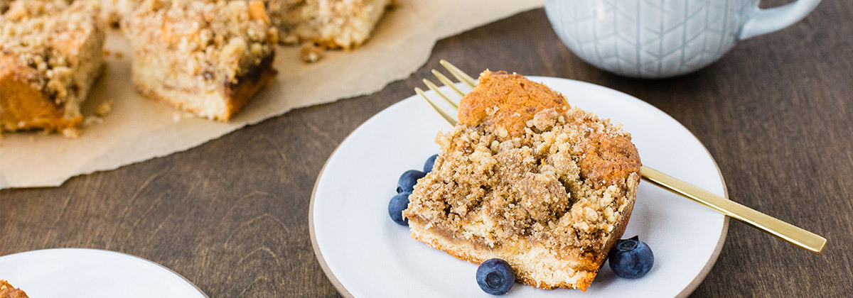 Coffee Cake Banner