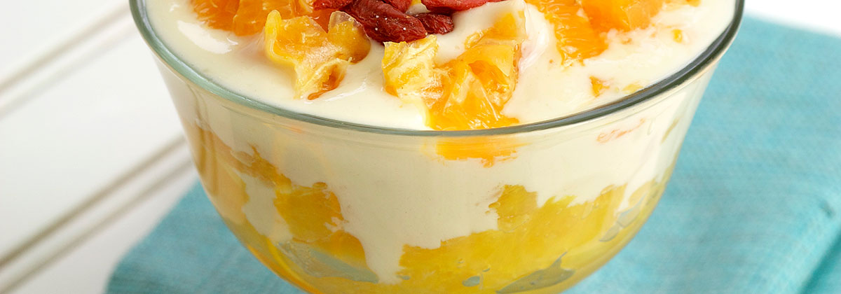 Recipes Breakfast Banner Citrus Dream Parfait 1200X420Px