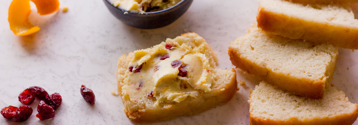 Recipe Sides Banner Cranberry Orange Butter 1200X420Px