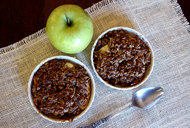 Crunchy Fall Apple Crisp