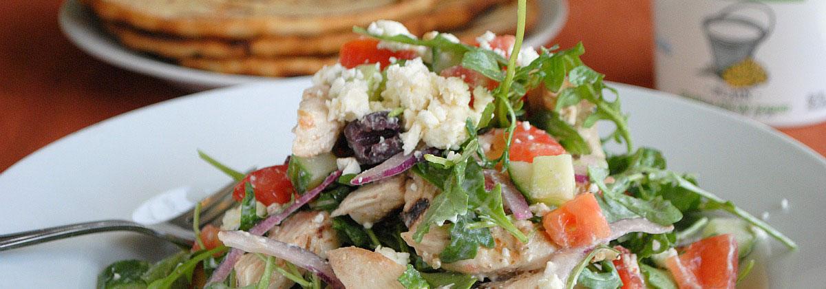 Recipes Salads Banner Grilled Chicken Souvlaki Salad 1200X420Px