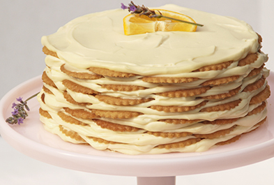 Lemon-Cream Icebox Cake