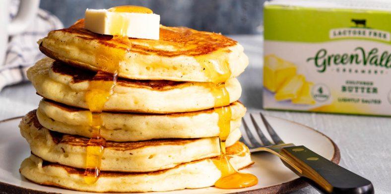 Kefir Pancakes Butter Header