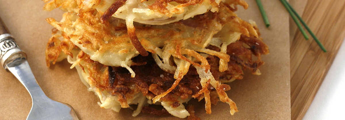 Recipes Appetizers Banner Latkes 1200X420Px