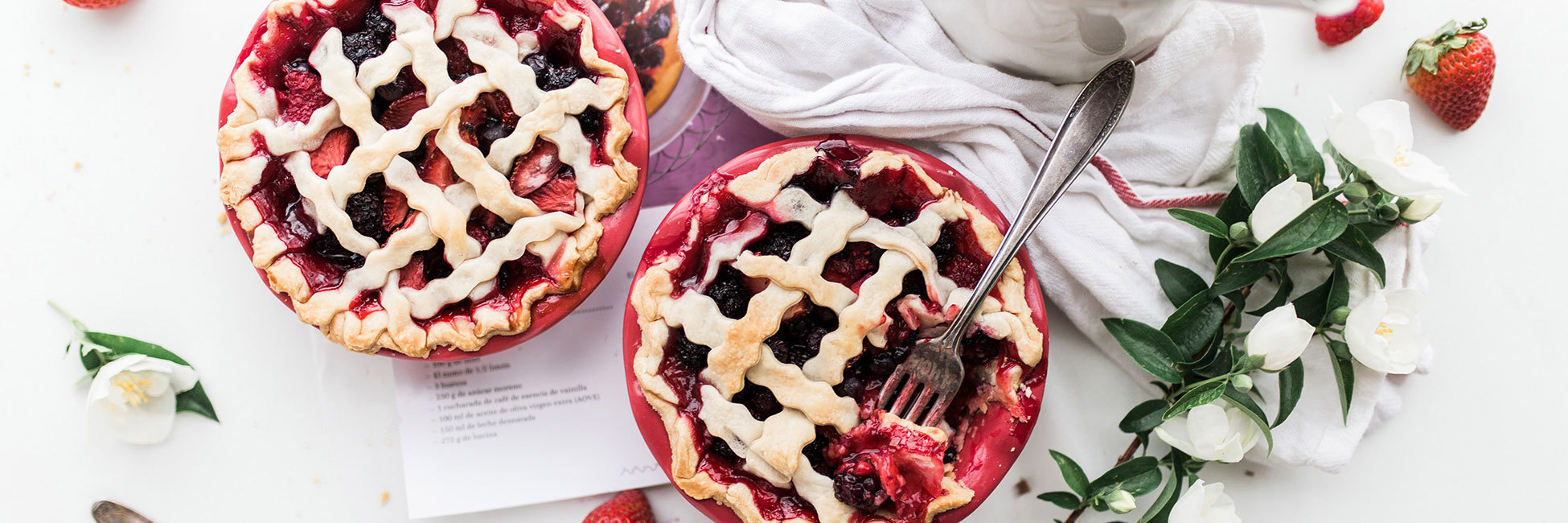 Recipes Banner Berry Pie With Yogurt Crust