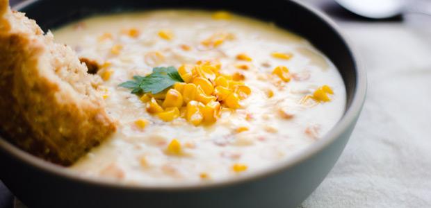 Pumpkin Corn Chowder Food Network