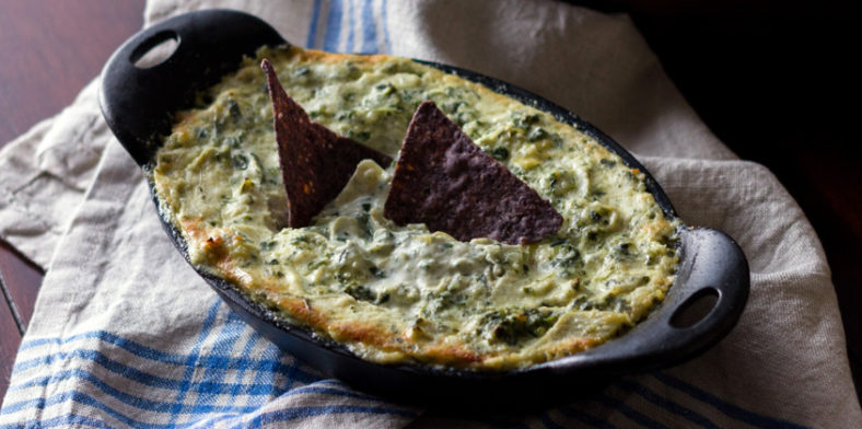 Recipes Appetizers Banner Spinach Artichoke Dip