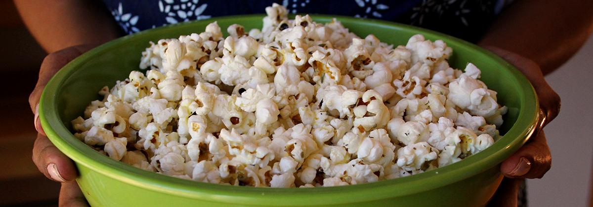 Recipes Sides Banner Stovetop Herb Popcorn