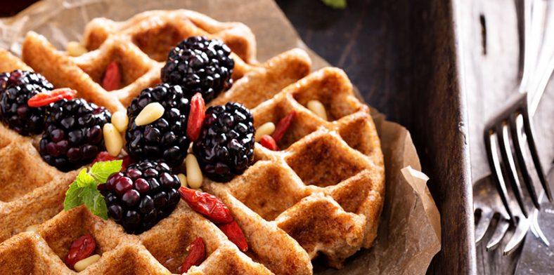 Recipes  Breakfast  Banner Best Waffle Recipe 1200X420Px