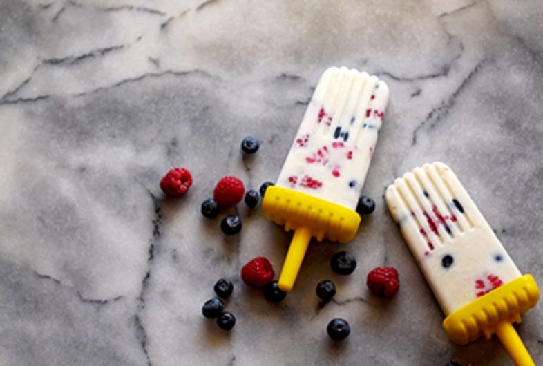 Yogurt Parfait Pops